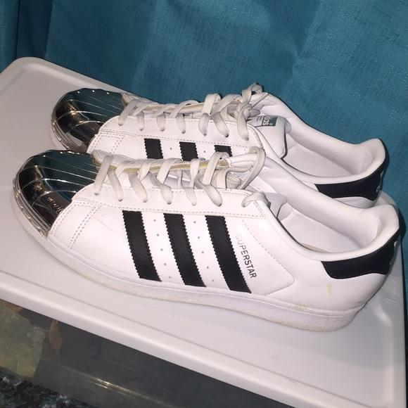 adidas superstar shoes shiny
